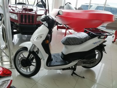 SYMPHONY CARGO 150 – WHITE – 2021 Delivery Bike for Sale in UAE